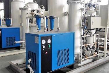 plantas para abastecimiento de Oxígeno Industrial.